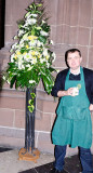 Derek and Cathedral flowers