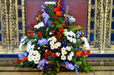 Flowers on Armed Forces Day