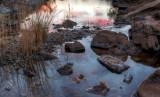 Glen Helen Gorge Sunset