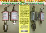 TWIN ELECTRIC FUEL PUMPS