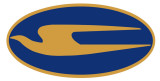 'BIRD LOGO  BLUE/GOLD, COMES ASSEMBLED  FOR MOUNTING CAN BE MADE IN ANY TWO COLOR COMBINATION  FACING RIGHT OR LEFT $$$ BY SIZE
