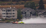 E-55 Hydroplane Blowover at Salmon Cup 2011
