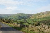 View towards Muker from the Buttertubs Pass