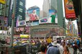 Times Square Captain America