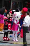 Hello Kitty & Minnie -Times Square - New York
