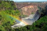 The Mighty Victoria Falls in Livingstone, Zambia