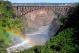 Bridge connecting Zambia and Zimbabwe