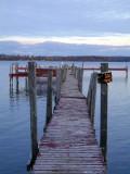 old wooden dock...