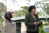 First woman mayor...Diana Smith