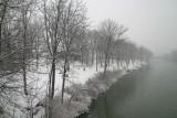 shoreline in the winter...