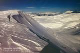 a glacial environment