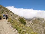 Subida a La Maroma desde El Robledal y salida por Sedella