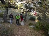 Subida al Ventana desde Benaoján (14 de Enero, 2012)
