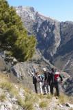 Travesía Canillas de Aceituno-Sedella-Salares-Canillas de Albaida-Cómpeta (25 de Febrero, 2012)