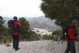 II Travesía Almijara Frigiliana-Cómpeta (24 de Marzo, 2012)