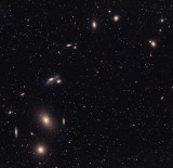 Virgo Galaxy Cluster HaLRGB 30 170 50 50 40