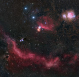 Orion Mosaic 4.3 billion pixel 4 panel mosaic