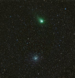 Comet Garradd and M71 LRGB 60 36 36 36 2 hours 48 minutes