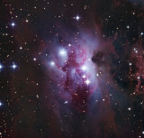 The Running Man Nebula LRGB 60 60 40 40 3 hours 20 minutes