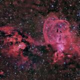 NGC3576 HaLRGB 120 30 60 40 60 5 hours 10 minutes
