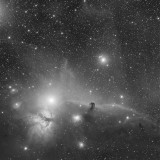 The Horsehead Nebula Luminance 110 minutes