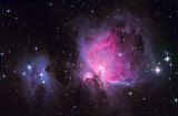 Orion OIII SII  LRGB
