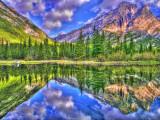Reflecting Ponds - Mount Kidd