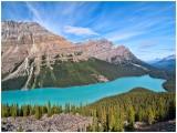 Peyto Lake - Bow Summit