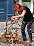 The street puppeteer New Age style