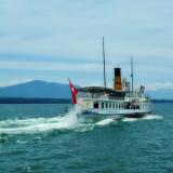 The Paddle Wheel Boat to Geneva…