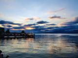 Vibrant lake...