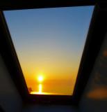 Sunrise window...
