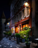 The little restaurant in the old square....