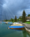 The small port, after the rain...