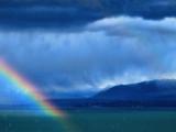 Rain and rainbow...