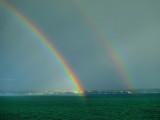 Rainbow twins...