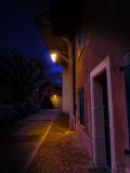 Just a village street...