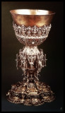 chalice of Andrzej Ozga (opat of monastery) made about 1480