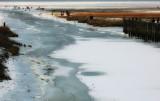 A nice walk over the frozen sea