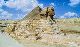 Sphinx   symbolism—body of Lion (strength and courage) head of man (wisdom and dominion)