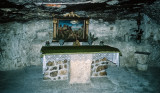 Altar to honor the cave
