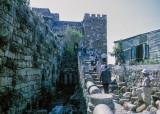 Stairway to Crusaders Fort in Byblos