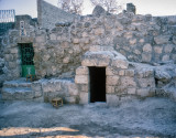 Lazarus' tomb in Bethany