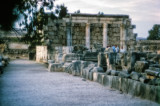 Capernaum – Excavation of Synagogue Jesus visited many times