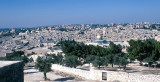 Walled city of Jerusalem from the Mount of Olives