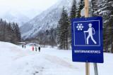 Kleinwalsertal Österreich Winterwanderung Baad Mittelberg (20.1.2011)