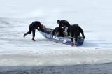 #911 police sur glace