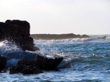 Tumultueuse mer des caraibes
