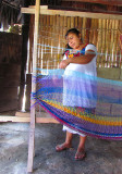 La tisserante Maya