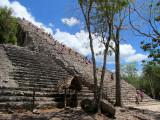 pyramide de Nohoch Mul ,Coba